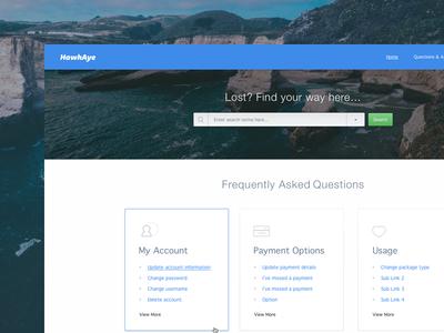 FAQ Area icon design clean search bar search ux design ui design ux ui web web design