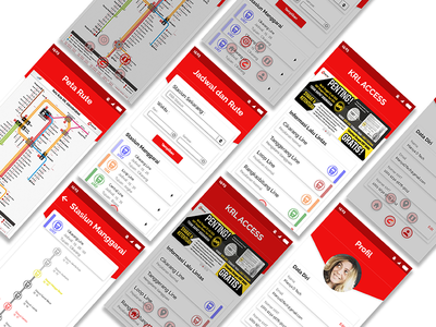 Redesign KRL Access App