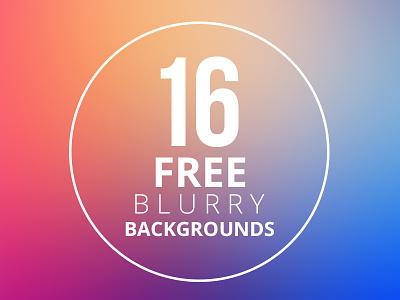 16 Free Blurry Backgrounds free freebie blurry background backgrounds blurred preview previews blur
