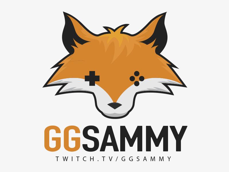 Gaming Fox game controller illustration animal fox gaming twitch branding logo