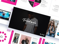 Trendmate - Fashion Trendy Power Point Template