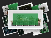 Hosplan - Minimalism Tropical Powerpoint Template