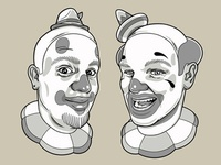 Couple of Old Clowns