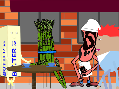 Fool1 scene photoshop animation character animation music video illustration moho12 animation 2d