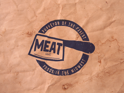 Meat LLC Stamp