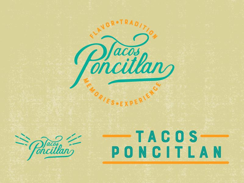Tacos! mexican food jalisco brand identity typography logo illustration illustation custom type brand and identity illustrator drawing design branding tacos