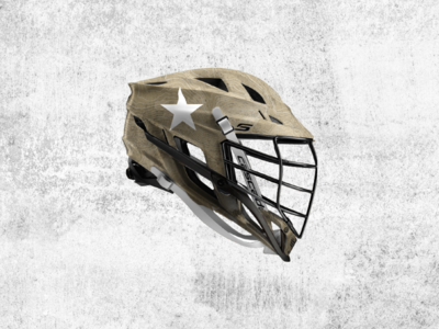 Army Lacrosse Helmet Concept topographic map mock concept lax lacrosse helmet sports branding brand and identity illustrator drawing design