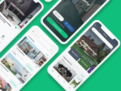 Properties  Mobile UI KIT business mobile design mobile ui mobile app design ux ui ui design user interface