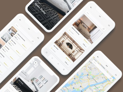 Room Booking  Mobile UI KIT ux user interface ui design ui mobile ui mobile design mobile app design business