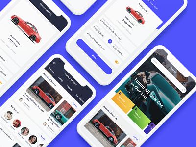 Rent Cars Mobile UI KIT ux user interface ui design ui mobile ui mobile design mobile app design business