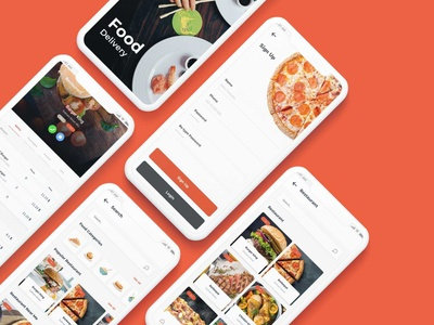 Food Delivery Mobile UI KIT