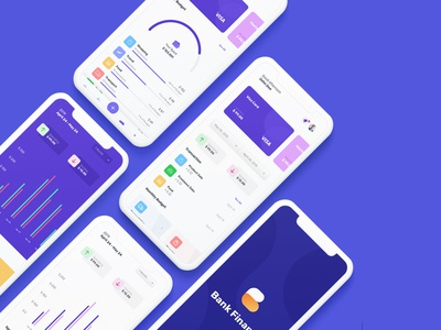 Bank Finance Mobile UI KIT