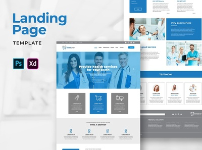 Landing Pages – Health Dental Services