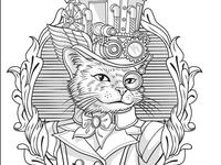 Emelianova Catsteampunk1