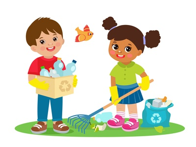 Ecology Boy And Girl