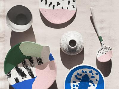 Homewares x Siotes seattle kitchenware design patterns ballasiotes