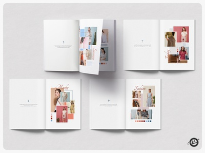 MOLLIE Moodboard Magazine clean moodboard ebook photography fashion feminine magazine minimal layout indesign template indesign editorial a4 size template design print design modern layout design templates minimalist