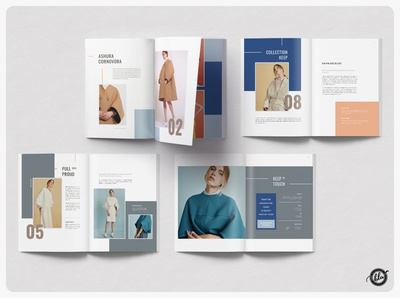 MUTYARA Fashion Lookbook ebook fashion advertising branding lookbook design minimal layout magazine lookbook layout professional indesign editorial template design a4 size print design layout design templates minimalist