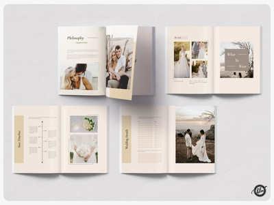 XAVIER Welcome Wedding Guide minimal layout event organizer wedding organizer xavier indesign wedding canva wedding canva template canva welcome wedding guide wedding indesign template photography modern a4 size print design editorial template design layout design templates minimalist