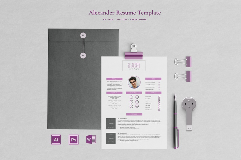 Resume 04 Pages | Soeprapto resume templates template resume cv resume template resume design resume template design professional print design layout design layout illustration a4 size templates modern minimalist