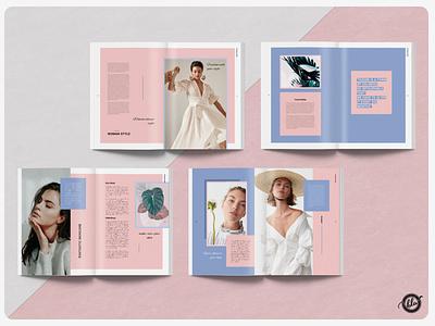 Venus Feminine Magazine us letter minimal venus woman feminine indesign magazine design editorial professional a4 size template design print design layout design templates modern minimalist