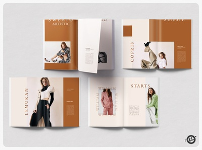 PIPPOT Photography Portfolio creative design us letter minimal design book layout design portfolio template ebook spring fashion photographer editorial design indesign template photography editorial a4 size template design print design modern layout design templates minimalist