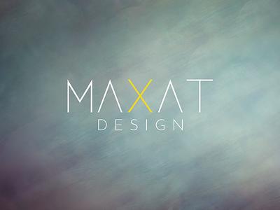 MAXAT Design Logo design logo