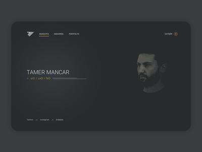 My Website concept design my website