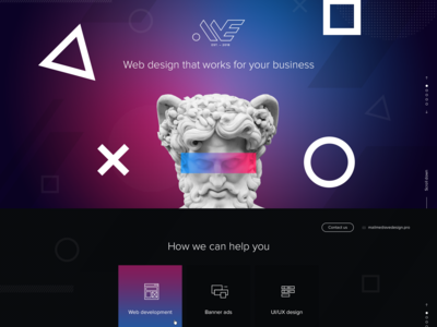 Aveidea web design agency  design and development from scratch