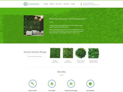 Designer Vertical Gardens