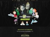 Illustrations, web design
