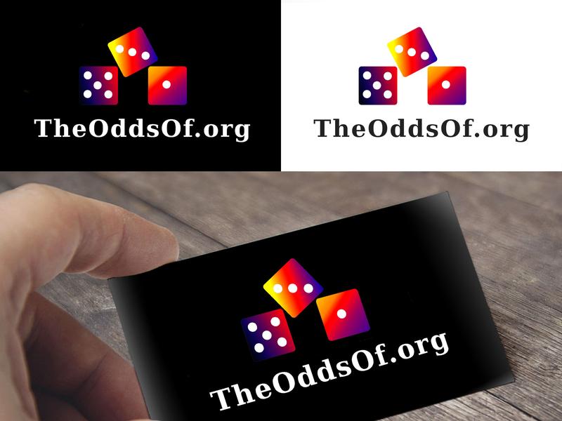 Aveidea Logo Theoddsof.Org V3 Presentation branding design design typography logo graphic  design