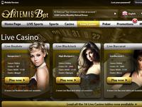 Artemis Desktop Live Casino