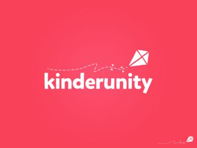 Kinderunity  kindergarten kids parents pink kite
