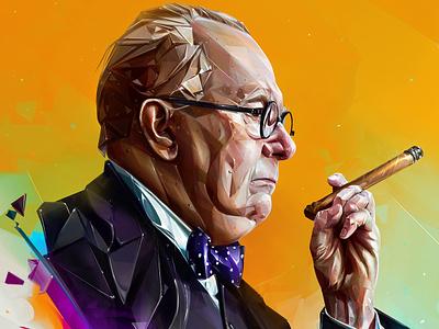 Gary Oldman design illustration portrait art