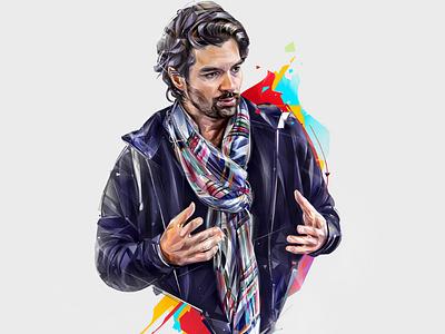 EMMANUEL BAJOLLE esports ubisoft art design illustration portrait