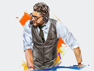 "PARKER ""INTERRO"" MACKAY ubisoft esports illustration design art portrait"