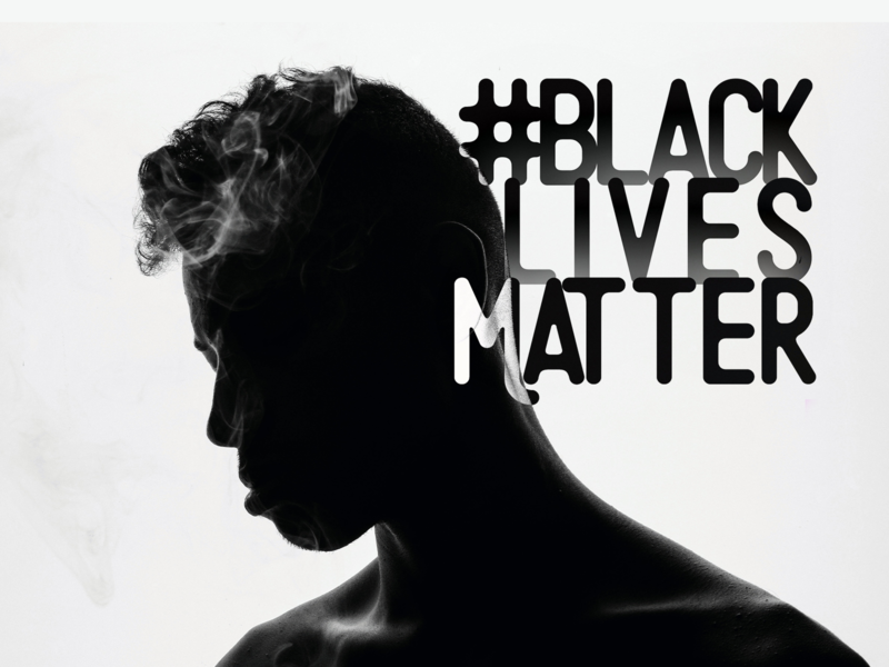 Black Lives Matter typogaphy movement