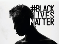 Black Lives Matter typogaphy movement