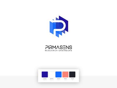 Pirmasens Software Company Rebrand branding brand saas company identity design logo design identity logo