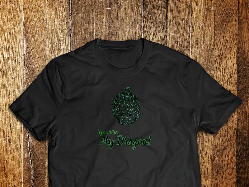 You're My Dragon dragon fruit organic dragon tshirt
