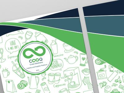 Chooq Brochure green product organic brochure