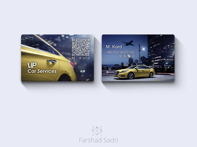 Business Card identity taxi driver business card vip