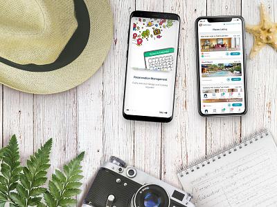 Vadiro Host App prototyping ui  ux design tourism travel app android ios