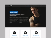 Personal Trainer Wordpress Website