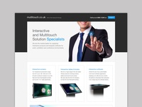 Multitouch Landing Page