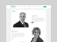 Baslow Insurance Website Redesign