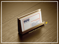 German company Business card