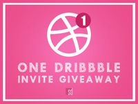 1 Dribbble Invite 🤩..