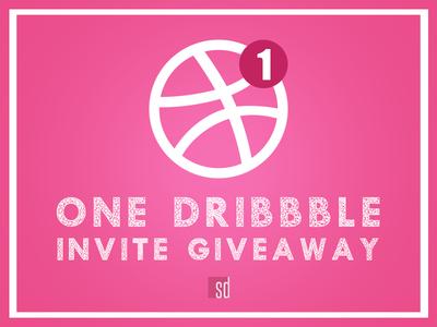 1 Dribbble Invitation Giveaway🤩.